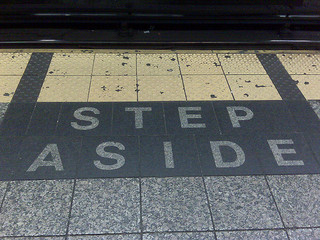 Step Aside!