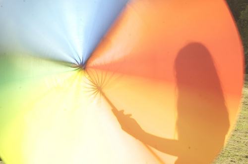 In the shadow of our umbrella of rainbows