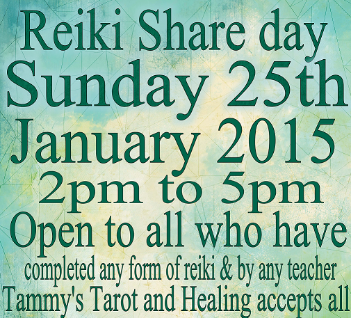 The importance of Reiki Share Days
