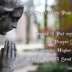 Reiki Prayer Position