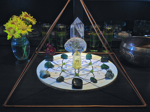 Abundance Prosperity Crystal Gemstone Grid 5