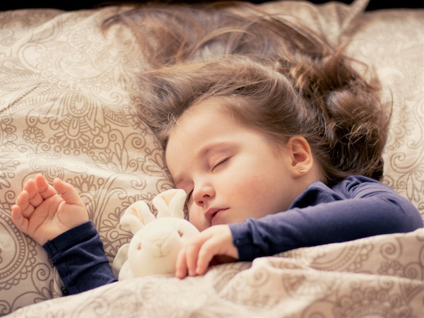 Reiki, as Part of a Child's Bedtime Routine