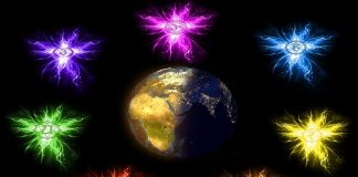 7 chakras of Mother Earth