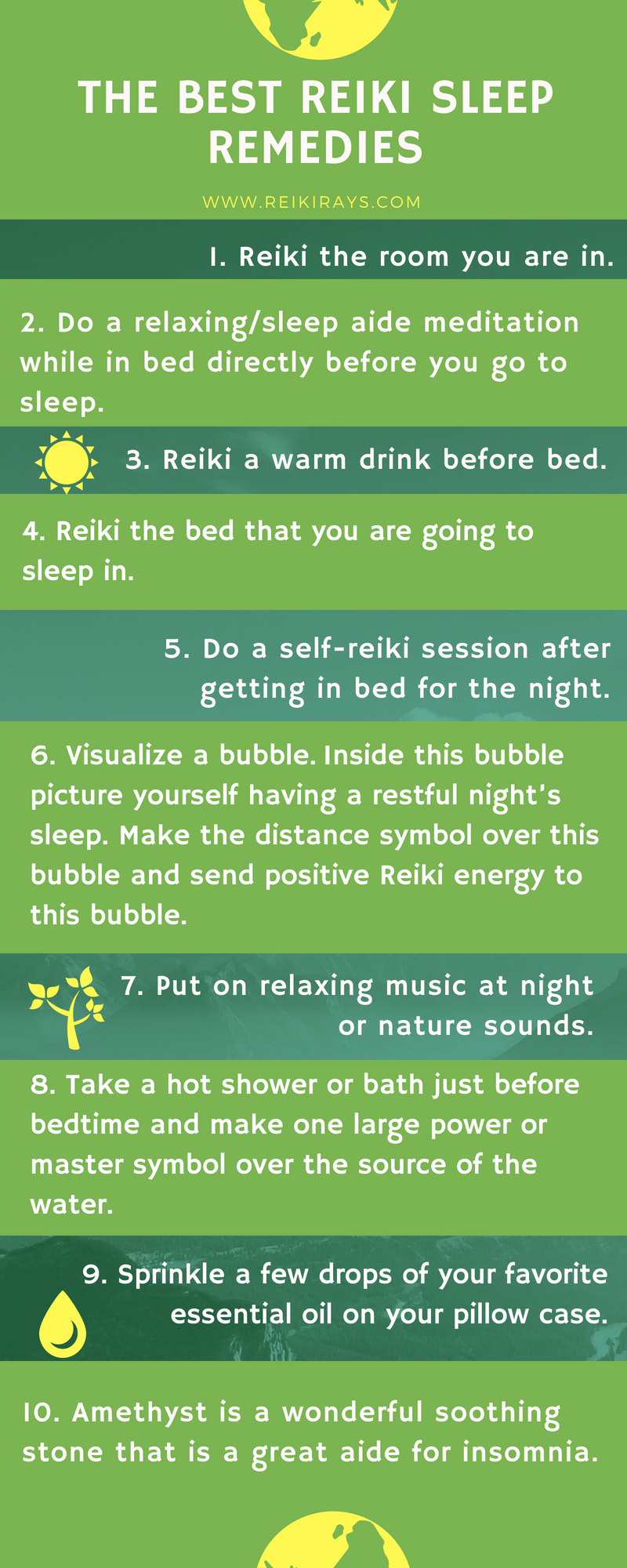 Best Reiki Sleep Remedies