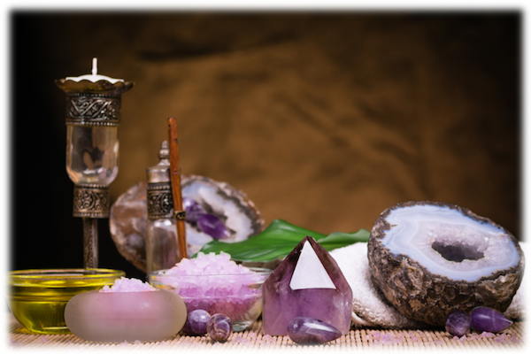 Crystals, Oils & Water