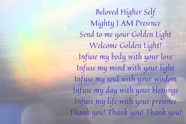 Invocation & Three Applications of Golden Light